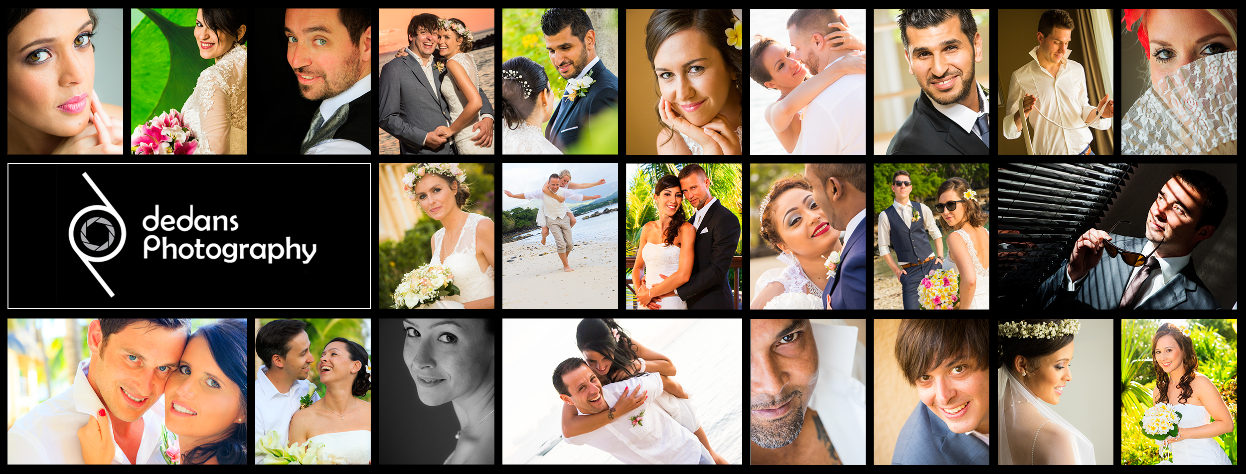 Dedans Photography, Wedding photography agency based in Mauritius